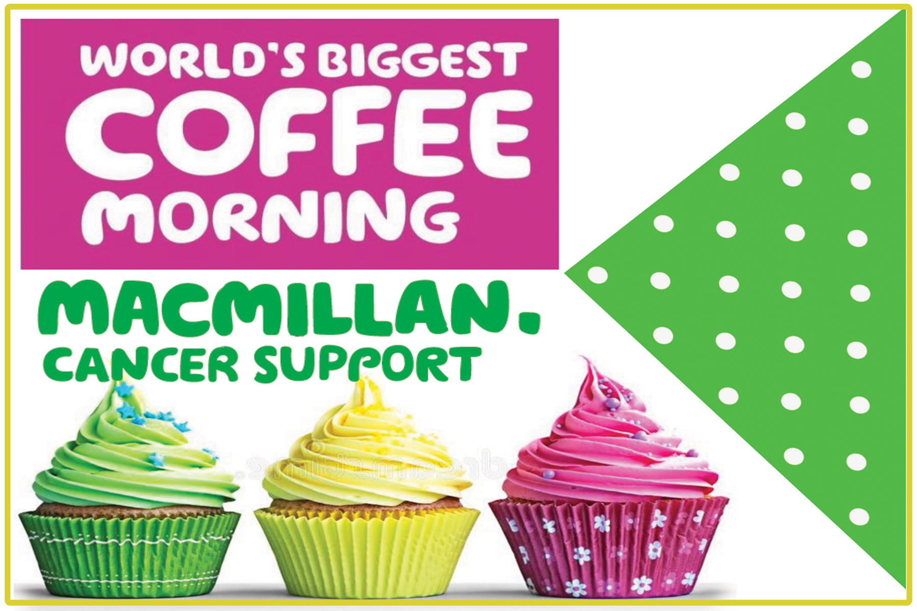 24 September: Worlds Biggest Coffee Morning – in Calstock